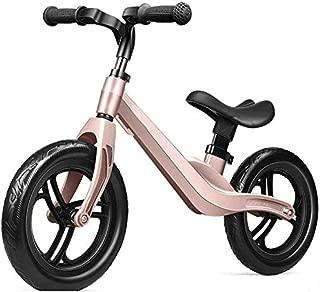 Bicicleta Equilibrada para Niños Sin Pedal, Bicicleta De Entrenamiento para Niños Pequeños con Manija Ajustable con Marco De Acero Al Carbono Y Asiento para Niños De 2 a 6 Años