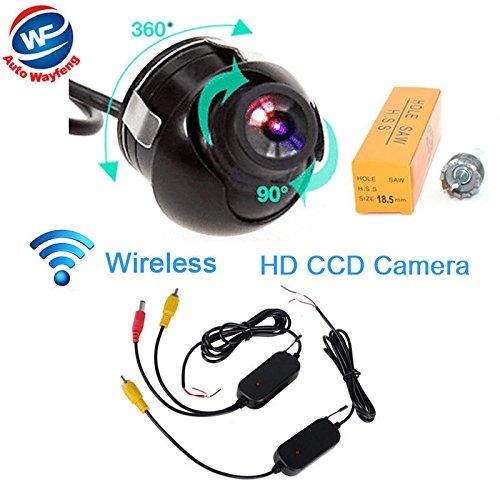 Auto Wayfeng® W-360 Grad-Auto-Vorderansicht CCD-Weitwinkel wasserdichte Frontkamera Kein Spiegel & No Parking-Linien