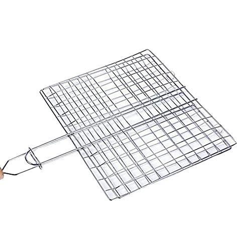 griglia barbecue 55x35 Griller - Cestello portatile antiaderente