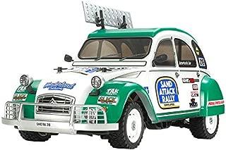 Tamiya 58670 58670-1:10 RC Citroen 2CV Rally (M-05Ra) - Coche teledirigido (construcción, Aficionado), Color Blanco