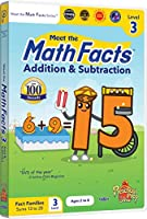 Math Facts: Addition & Subtraction - Level 3 [DVD]