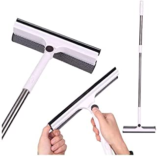 OTFZ Glass Cleaning Equipment, Clean/Wiper Integrated Design, Simple And Stylish Design Style, Easy To Use (white) (Color ...