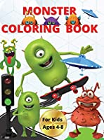Monster Color Book For Kids 4-8: A Story About Colorful Emotions of little monsters