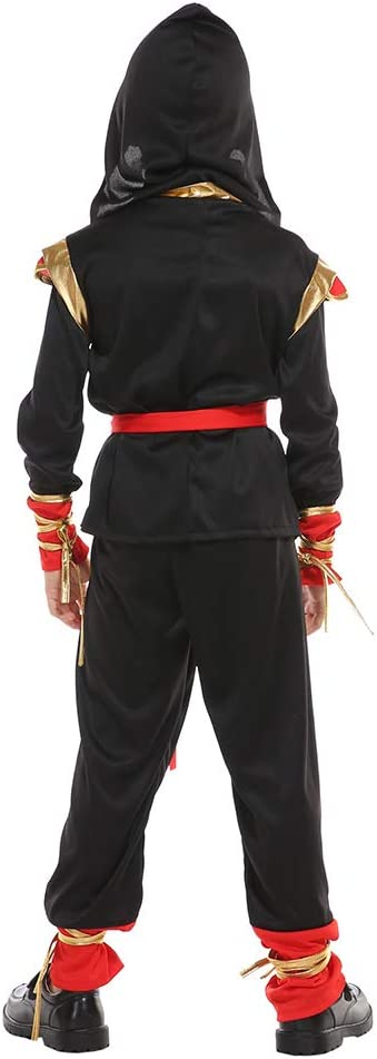 Mask Not Included Black Kids - 4T Kids Bodysuit Costumes Halloween Cosplay Costumes