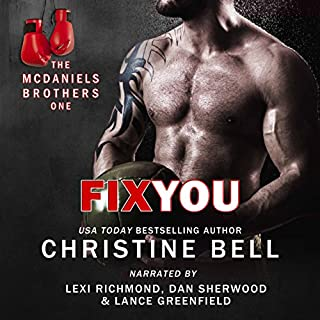 Fix You: Bash and Olivia's Story, The McDaniels Brothers Book One audiobook cover art