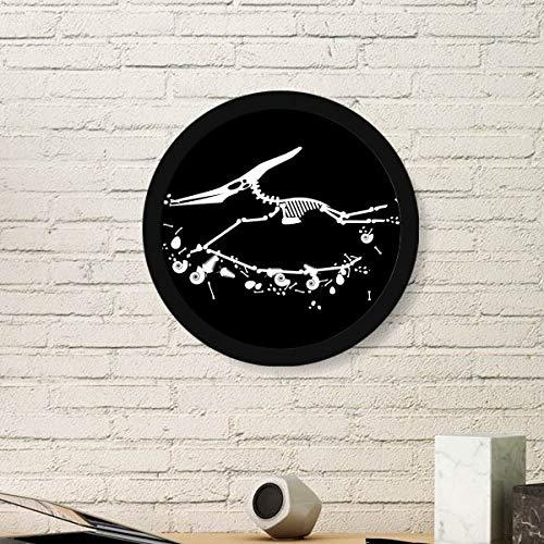 DIYthinker Dinosaur Bone Bones Miniatuur Baby Ronde fotolijst Art Prints Van Schilderijen Thuis Muursticker Gift