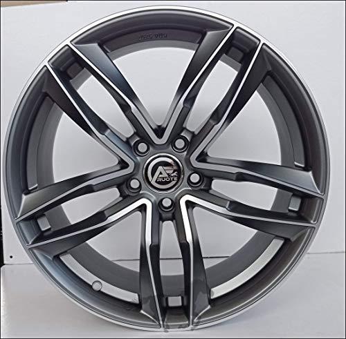 1 AF16 Llantas de Aleación NAD 8 18 5X112 45 66,5 Compatible Con Volkswagen Golf 5 6 7 8 T-Roc Hecho en Italia