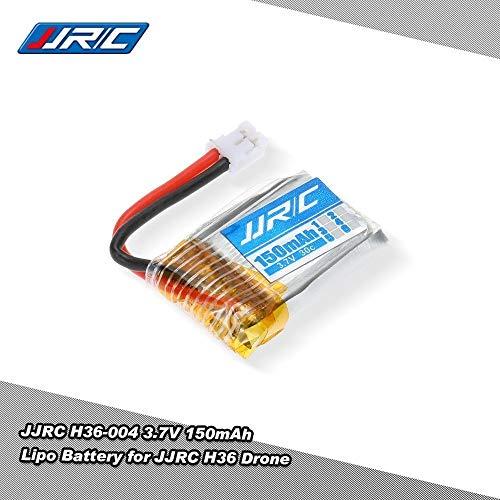 JJRC YUNIQUE Italia® 1 Pezzo Batteria Li-Po per RC Drone H36 Ricambio H36-004 3.7 v 150mAh 30C
