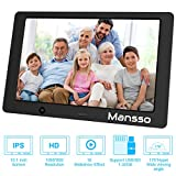 2019 Upgraded 10.1 Inch Digital Photo Frame 1280x800 High Resolution Full IPS Display