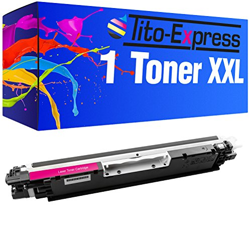 Tito-Express PlatinumSerie 1 Toner compatibile con HP CE313A Magenta CP1025 CP1025N CP1025NW MFP M175A M175NW M176 BX925FWD BX 320 630 FW 635 935 FWD SX 235 425 435 535 W WD