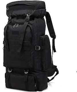 WintMing 70L Camping Hiking Backpack Molle Rucksack Waterproof Traveling Daypack