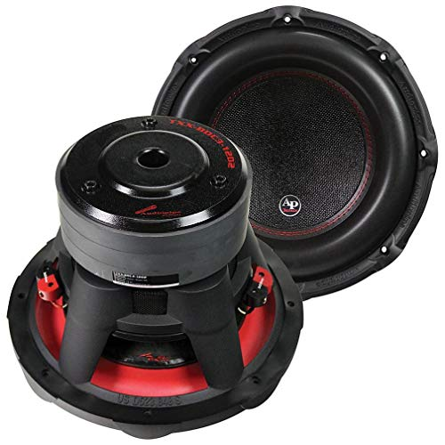 """AUDIOPIPEMAP Audiopipe 12""""³ Woofer 900W RMS/1800W Max Dual 2 Ohm Voice Coils"""
