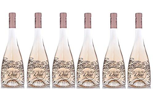 """Lot de 6""""La vie en rose"""" par Roubine Cotes de Provence..."""