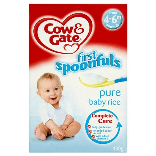 Cow Gate A surprise price is realized First Spoonfuls Pure Baby from x Onwards Over item handling ☆ Rice 6 4-6m