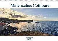 Malerisches Collioure in Suedfrankreich (Wandkalender 2022 DIN A3 quer): Intensiv blauer Himmel, tuerkises Wasser und bunte Haeuser - das ist das unvergleichbare, farbenfrohe Collioure in Suedfrankreich. (Monatskalender, 14 Seiten )