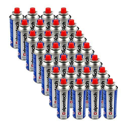 Alpentech Gaskartuschen, 227 g, Butan, Gasflasche UN2037, für Herd und Unkrautbrenner