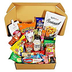 Image: Classic Asian Snack Box | College Care Package | Japanese Candy | Korean Snacks | Chinese Snacks | Travel Snacks and Junk Food