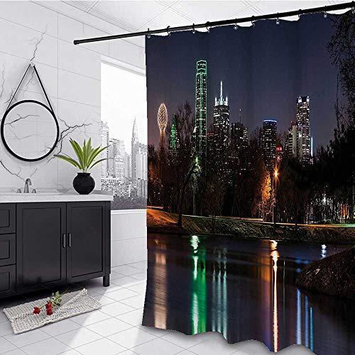 Interestlee Apartment Shower Curtain Liner 36