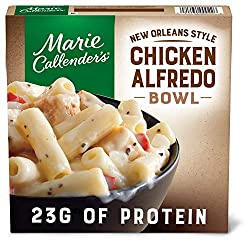 Marie Callender's Frozen Meal, New Orleans Style Chicken Alfredo Bowl, Packed with Protein, 11 oz.