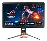 ASUS ROG SWIFT PG27UQ 27'' 4K Gaming Monitor, 144 Hz, G-SYNC Ultimate, △E