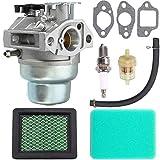 GCV160 Carburetor Compatible with Honda GCV160A GCV160LA GCV160LE Engine HRB216 HRR216 HRS216 HRT216 HRZ216 Lawn Mower + Tune Up Kit Air Filter