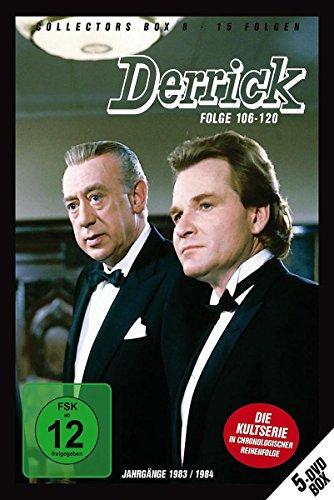Derrick - Collector's Box Vol. 08 (Folge 106-120) [Alemania] [DVD]