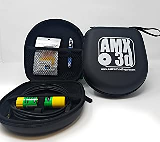 AMX3d 3D Printing Pen Case and Accessory Kit - A Loanable, Lendable 3D Pen Case and Accessory Kit Designed for Schools, Libraries, Makerspaces and DIY Makers