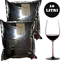 bag in box | 10 litri aglianico neos | vino rosso | cantina firosa | 2 ricariche da 5 litri
