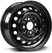 RTX, Steel Rim, New Aftermarket Wheel, 13x5 4-100 59.1 +40, black finish X99108N
