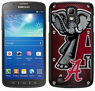 Samsung Galaxy S4 Active Southeastern Conference SEC Football Alabama Crimson Tide 17 Black Screen Phone Case,Unique Cover