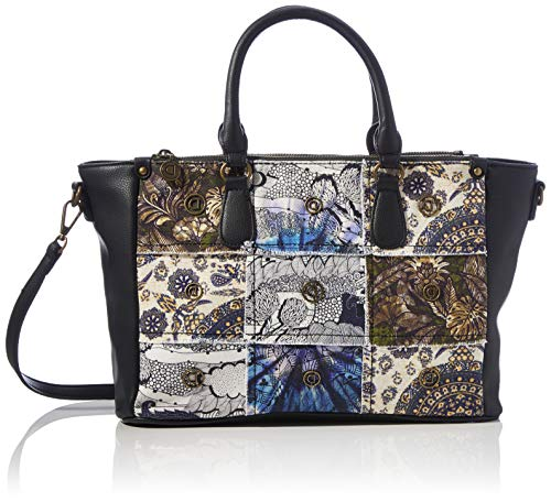 Desigual womens Hand bag, Black, One Size US