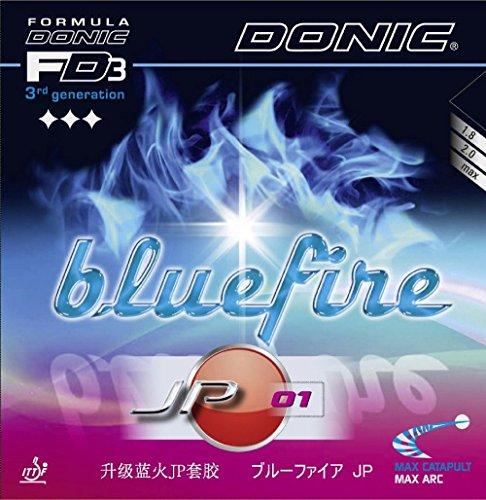 Donic Bluefire Tenis de Mesa Goma JP01, 2.00mm, Color Rojo y Negro