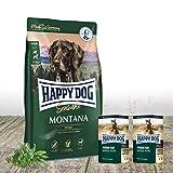 Happy Dog - Montana 10 kg + 2 x 400 g Dosen Pferd pur