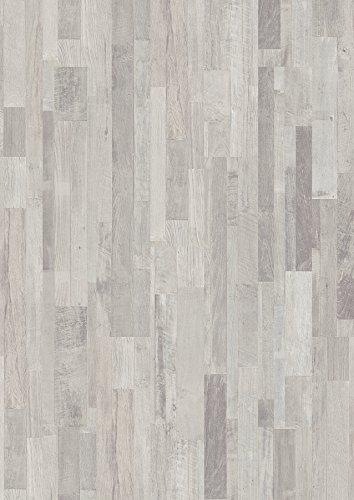 floorXpress 2K0439832 Juno Wood 8.32 Laminatboden-Treibholz Multistab-14.95 €/m², Hellgrau, 1285 x 192 x 8 mm, 9 Stück