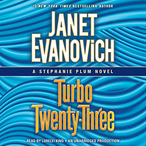 Turbo Twenty-Three     A Stephanie Plum Novel, Book 23              By:                                                                                                                                 Janet Evanovich                               Narrated by:                                                                                                                                 Lorelei King                      Length: 6 hrs and 13 mins     4,038 ratings     Overall 4.4