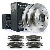 Kit de freins/freins pour disques de frein avant + plaquettes de frein Ø 230 mm Entièrement NB PARTS Allemagne 10038338