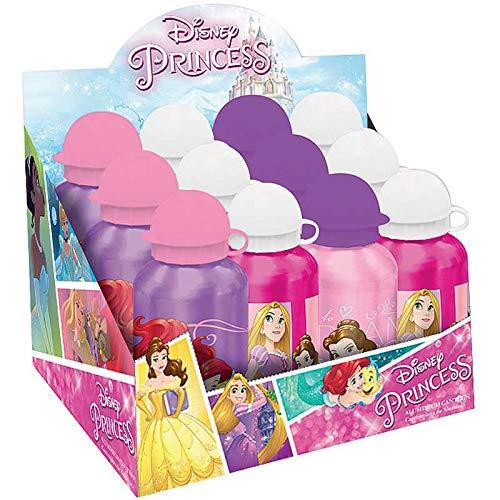 Principesse Disney - Borraccia in alluminio, multicolore (Kids Euroswan WD17145)