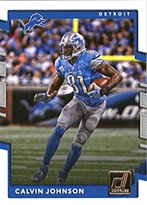 2017 Donruss #31 Calvin Johnson Detroit Lions Football Card