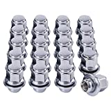 M12x1.25 Lug Nuts with Mag Seat, 13/16' 21mm Hex 1.46x1.16 in. Chrome Plated Wheel Lug Nuts Compatible with Infiniti EX35 EX37 FX35 FX37 Nissan 370Z Maxima Pathfinder & More, Set of 20