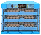 Incubatrice per Uova Automatica, Portatile Automatica Covatrice Macchina, Facile da Osservare Incubatrici di Uova, per Gallina/Anatra/Quaglia,Blue_192 Eggs