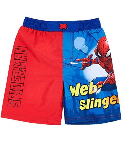 Spiderman Jungen Badehose - rot - 116