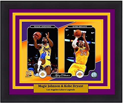 Magic Johnson Los Angeles Lakers NBA Framed 8x10 Photograph Collage