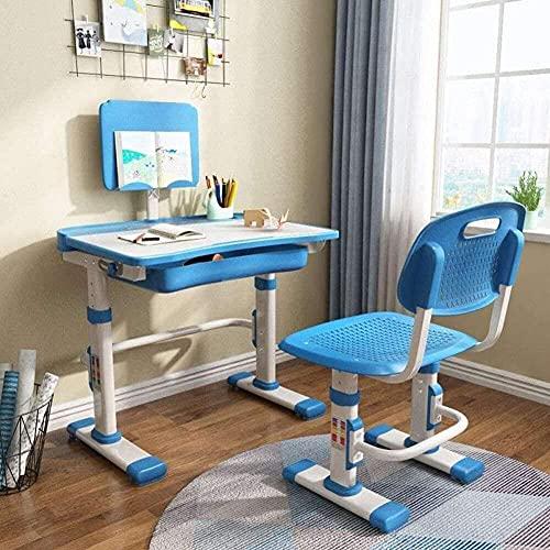 Escritorio escolar para niños y niños para jardín de infantes y ordenador portátil, mesa de estudio, escritorio con cajón de almacenamiento, graffiti de escritorio A 70 x 52 cm, A_70 x 52 cm