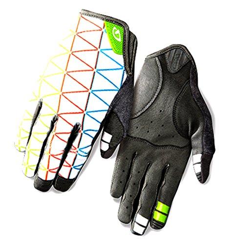 Giro La DND Damen Fahrrad Handschuhe kurz weiß/grau 2016: Größe: M (7)