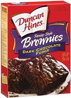 Duncan Hines Dark Chocolate Fudge Brownie Mix - 2 boxes