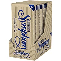 12-Pack Hershey Symphony Chocolate Candy Bar with Almonds and Toffee