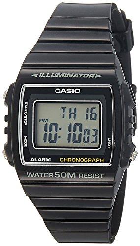 Casio Orologio Digitale al Quarzo Unisex con Cinturino in Resina W-215H-1AVEF