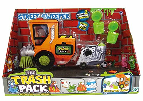 GIOCHI PREZIOSI Trash Pack - Camion balai-brosse + personnage