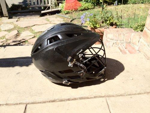 Cascade Pro7 Lacrosse Helmet (Black)