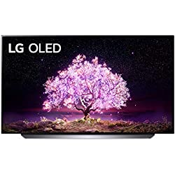 LG OLED48C14LB Smart TV 4K 48´´, TV OLED Serie C1 2021 con Processore α9 Gen4, Dolby Vision IQ, Wi-Fi, webOS 6.0, FILMMAKER MODE, Google Assistant e Alexa Integrati, 4 HDMI 2.1, Telecomando Puntatore